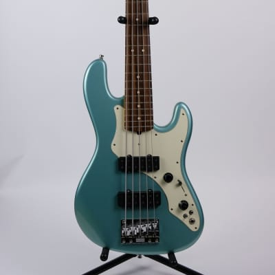 Fender Roscoe Beck Signature Bass V 1998 Teal for sale