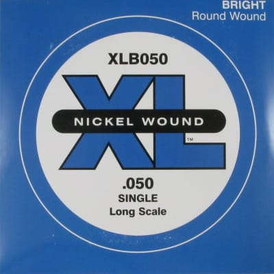 D'Addario XLB050 Bass Single