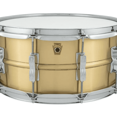 "Ludwig LB654B Acro Brass 6.5x14"" Snare Drum"
