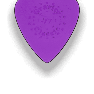 Gravity Classic Standard Thin Picks .77mm Purple Acrylic <GTCL77>