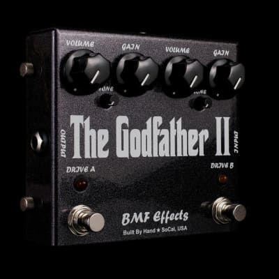 BMF Effects The Godfather II Dual Overdrive Guitar Pedal
