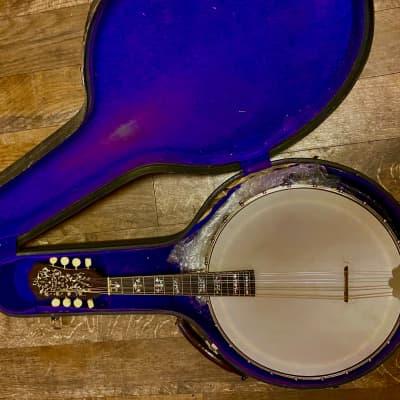 Orpheum #3 Mandolin Banjo 1920 Dark Maple for sale