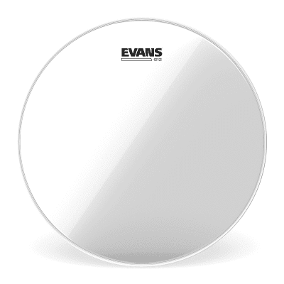 Evans TT12G12 G12 Clear Drum Head - 12""