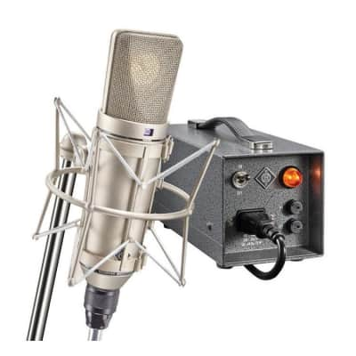 Neumann U 67 Set Large Diaphragm Multipattern Tube Condenser Microphone Reissue