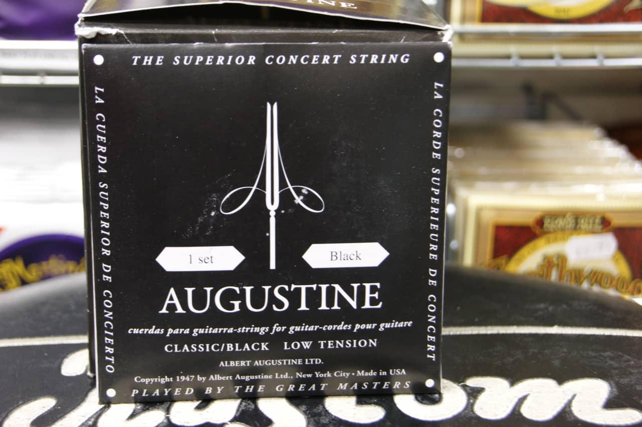 augustine classical guitar strings low tension black pack reverb. Black Bedroom Furniture Sets. Home Design Ideas