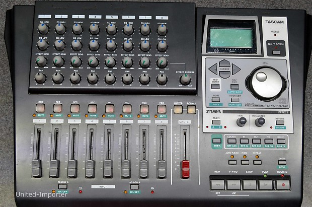 TASCAM DP 01FX DRIVERS FOR WINDOWS 8