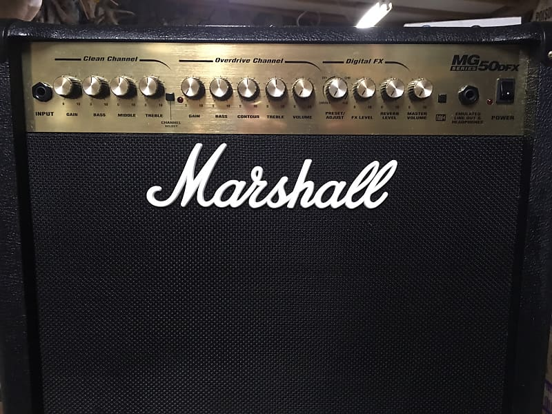 Uitgelezene Marshall MG50DFX Guitar Combo Amplifier (50 Watts, 1x12 in.) | Reverb DP-43