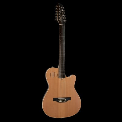 Godin A12 Natural SG 12-String Electric Acoustic Guitar for sale