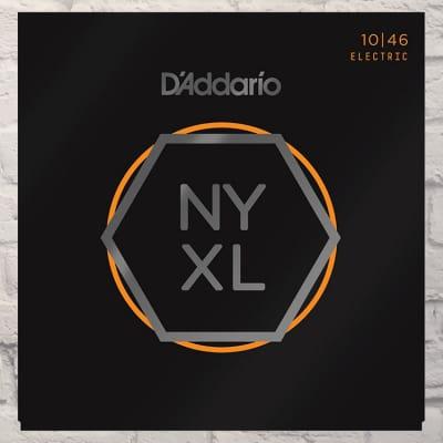D'Addario NYXL1046 Regular Light Nickel Wound Electric Guitar Strings 10-46
