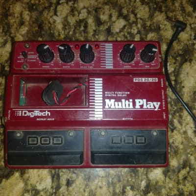 DigiTech Pds 20/20 Multiplay Modulation Multi Delay Pedal for sale