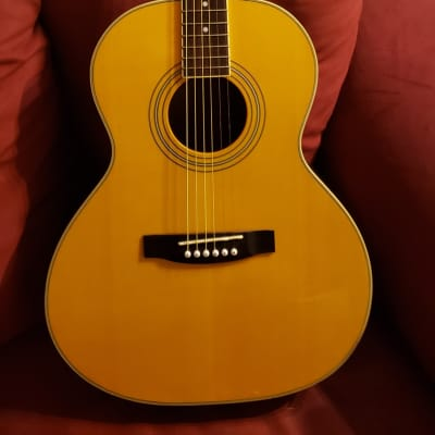 Morgan Monroe Bean Blossom Bennington 0-Size Acoustic Electric Guitar for sale