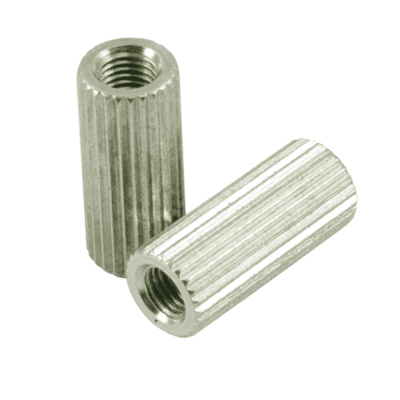 Kluson USA® Anchor Bushings For Stop Tailpiece Studs Zinc With USA Thread KUABC-1188