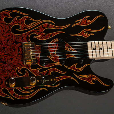 Fender James Burton Telecaster - Red Paisley Flame for sale