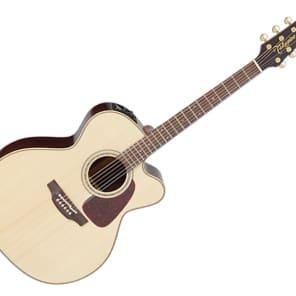 Takamine P5JC Pro Series 5 Jumbo Cutaway Acoustic/Electric Guitar Natural Gloss