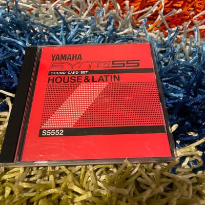Yamaha SY/TG55 House & Latin Sound Card