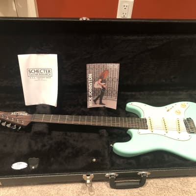 Schecter Nick Johnston Traditional Signature SSS Atomic Green w/ Ebony Fretboard for sale