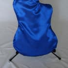 """BLUE """"AxeSak HD"""" Satin Guitar Protection Cover FITS Fender Stratocaster image"""