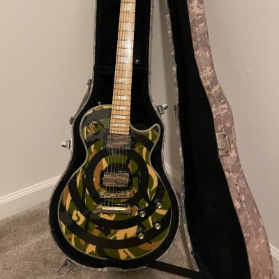 Epiphone Zakk Wylde Les Paul Custom Camo 2005 Camo for sale