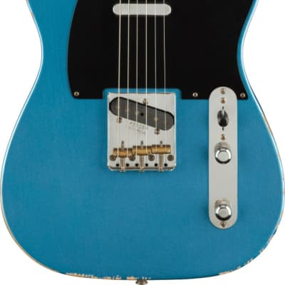 Fender Road Worn 50s Telecaster Electric Guitar in Lake Placid Blue
