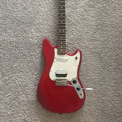Fender Cyclone Deluxe Series 2000 Candy Apple Red MIM Rare Guitar + Gig Bag