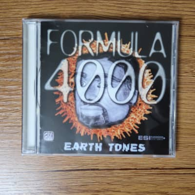 E-MU Sound Central Formula 4000 Earth Tones Sample CD-ROM