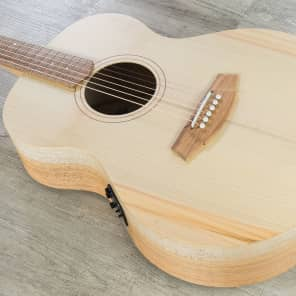 Cole Clark Angel 1 Auditorium Acoustic-Electric Guitar Bunya Queensland Maple for sale