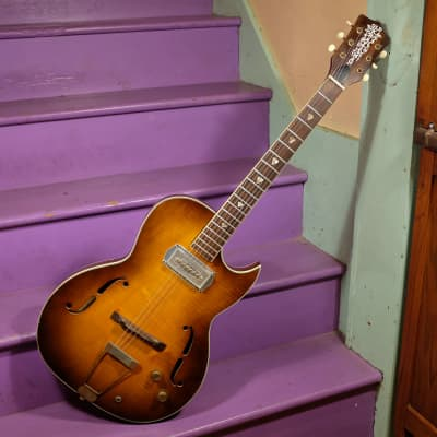 1960s Kay-made Old Kraftsman Galaxie (Speed Demon) Hollowbody Electric Guitar for sale