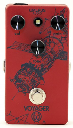 walrus audio custom voyager overdrive red dark blue reverb. Black Bedroom Furniture Sets. Home Design Ideas