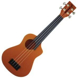 Eddy Finn Beachcomber Soprano Weather-Proof Ukulele Orange - Soprano for sale