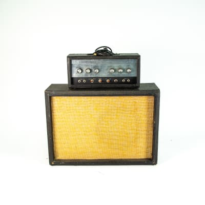 Silvertone 1483 w/ Matching 1x12 Amplifier Owned by Jay Farrar of Son Volt