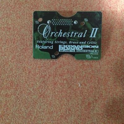 Roland SR-JV80-16 Orchestral II Expansion Board