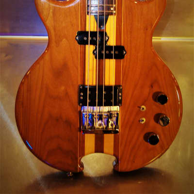 O'Hagan Nightwatch 1982 Natural.  Bass. Alembic style. Rare. Long scale. Through body. BOUTIQUE. for sale