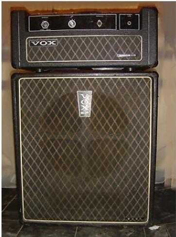 vox Super Foundation Bass Head 1969 black | sean's Shop
