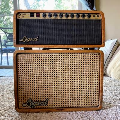 Rare Legend Super Lead 50 Amp Head + 1x12 Rola Celestion GS12-80 Speaker Cabinet for sale