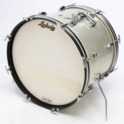 """Ludwig No. 920 Classic 14x20"""" Bass Drum 1960s"""