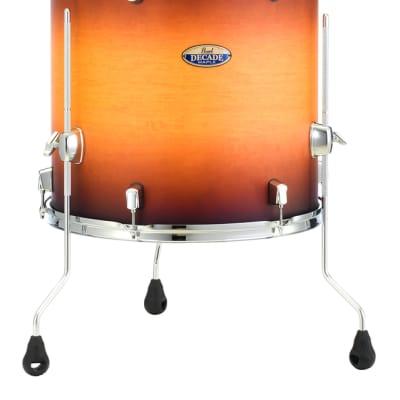 """Pearl Decade Maple 18""""x16"""" Floor Tom Drum  CLASSIC SATIN AMBURST DMP1816F/C225"""