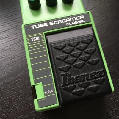 Ibanez Tubescreamer TS10 MIJ (Black Label/JRC4558D)
