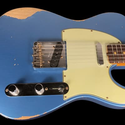 2019 Fender Telecaster 1963 Custom Shop Heavy Relic 60 Tele ~ Lake Placid Blue for sale