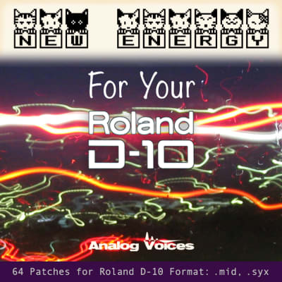 New Patches for Roland D-10 / D-110