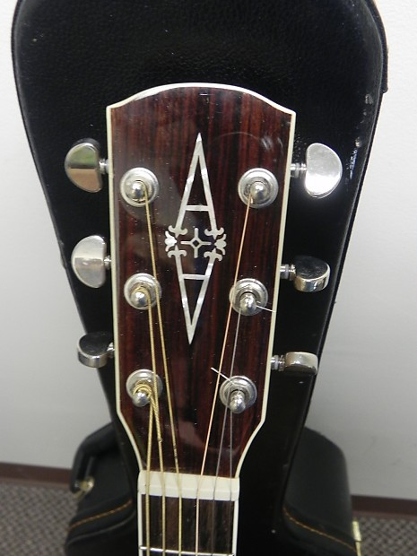 Alvarez Aj60sc Nat Flame Maple Jumbo Cutaway Reverb