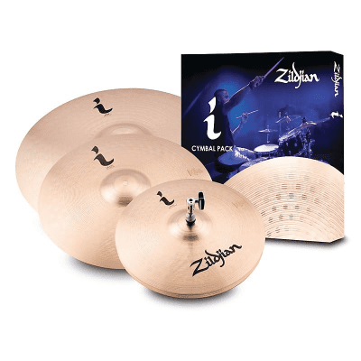 """Zildjian I Family Standard Gig Pack with 14"""" / 16"""" / 20"""" Cymbals"""