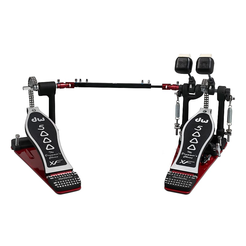 dw 5000 series double bass drum pedal single chain reverb. Black Bedroom Furniture Sets. Home Design Ideas