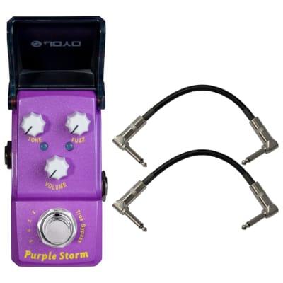 Joyo JF-320 Purple Storm Fuzz MINI Pedal Bundle for sale