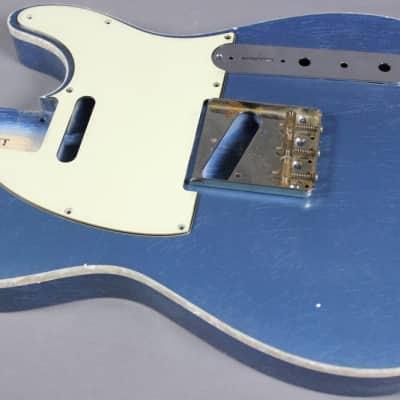 MJT Official Custom Order Vintage Aged Nitro Single Bound Guitar Body Mark Jenny VTT for sale