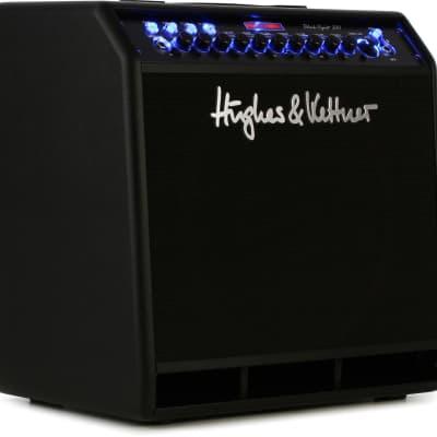 "Hughes & Kettner Black Spirit 200 4-Channel 200-Watt 1x12"" Solid State Guitar Combo"