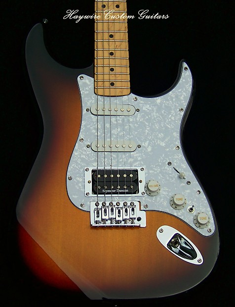 partscaster strat duncan jb h s s guitar warmoth option srv reverb. Black Bedroom Furniture Sets. Home Design Ideas