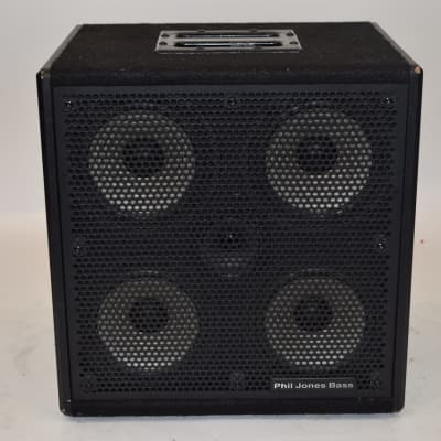 Phil Jones Bass Cab-47 300W 4x7 Bass Speaker Cabinet w/ Cover - Previously Owned