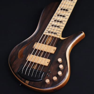 Adamovic Halo 6 Hollow Body Custom Order Natural  [09/30] for sale
