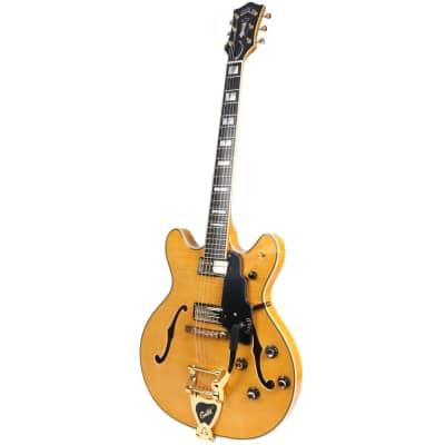 Guild Starfire VI Blonde semi-acoustic guitar for sale