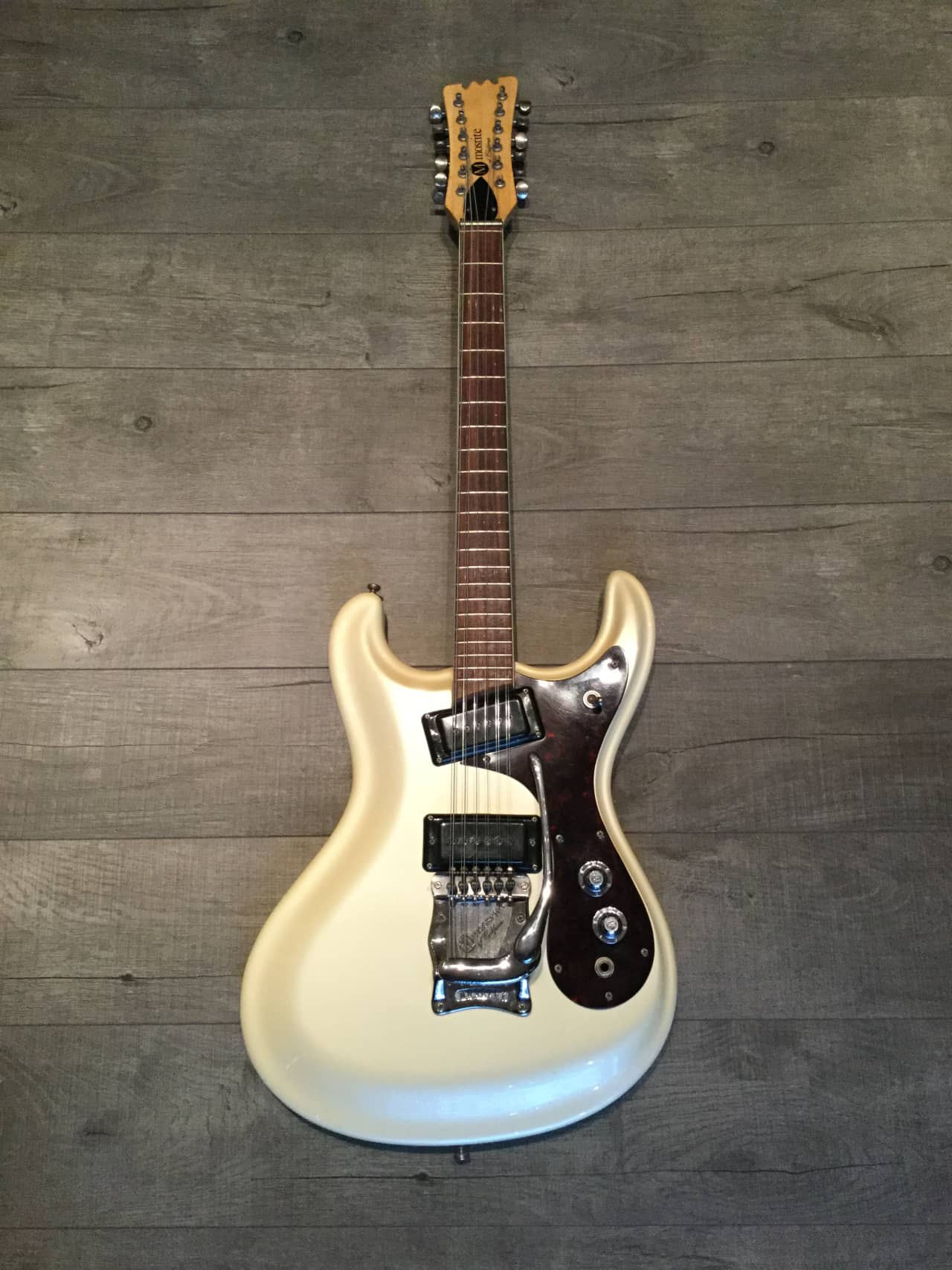 mosrite electric 12 string 1965 pearl white near mint reverb. Black Bedroom Furniture Sets. Home Design Ideas